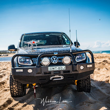 The beast on redhead beach