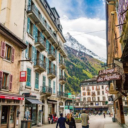 Chamonix Street scene