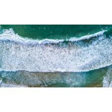 Avalon Wave Surfers - Framed 1200x760mm
