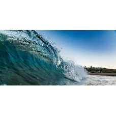 Avalon Wave - Framed 1600 x 1000mm