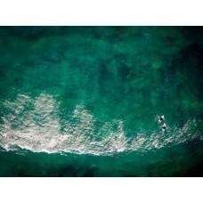 Surfers Bomb Shot - Framed 1200x760mm